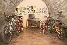 Sala BTT para guardar las Bicis con información de Rutas