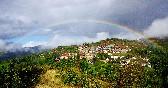 Vistas con arcoiris