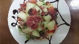 Jamon con melón