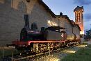 Locomotora - barrio de la estación - muga