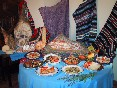 exhibición de platos