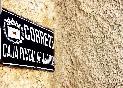 Detalle calle caserío