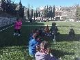 Juegos en el campo de fútbol
