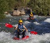 Kayaks en aguas bravas en Cazorla