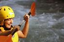 Momentos divertidos en aguas bravas en Cazorla