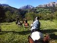 Ruta a caballo liébana