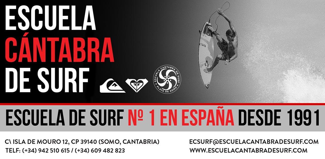 Imagen de Escuela Cantabra de Surf que es propietario de Escuela Cántabra de Surf