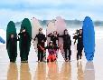 Equipo escuela cántabra de surf