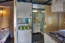 Zona cocina bungalows azules