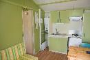 Cocina bungalows verdes