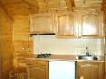 Cocina del bungalow A