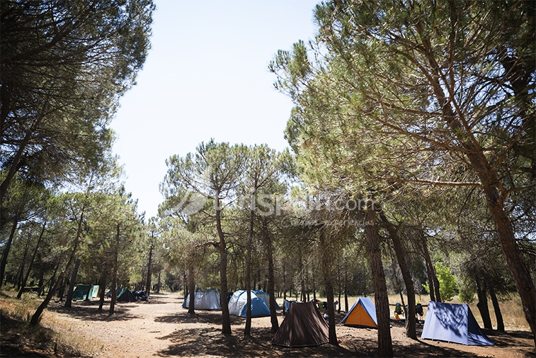 Mariola_campamento_tienda