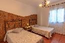 Dormitorio doble Castaño
