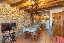 Salón-cocina El Cerezo interior