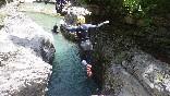 salto 3 canyoning