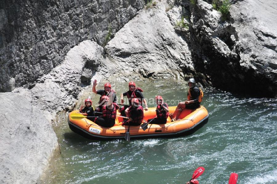 Rafting aguas blancas