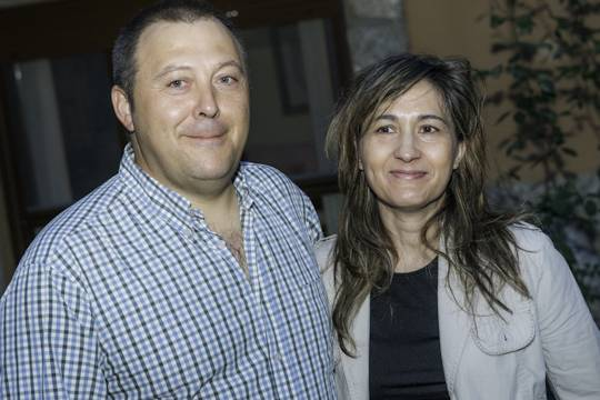 Imagen de Atilano y Rosa,                                         propietario de Casa Rural Arroal