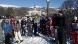 Meridiano-raid-paseo-en-grupo-con-raquetas-de-nieve