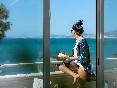 Hotel ciutat jardi terraza