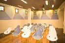 Sala de conferencias sillas