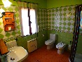 Casa-rural-valdrefresno-baño-verde-ducha