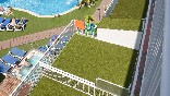 Terrazas vista piscina