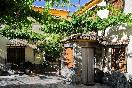 Fachada entrada casa roque