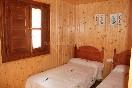 Habitación dos camas El Castellar