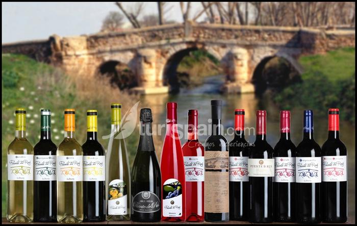Montaje vinos puente de rus