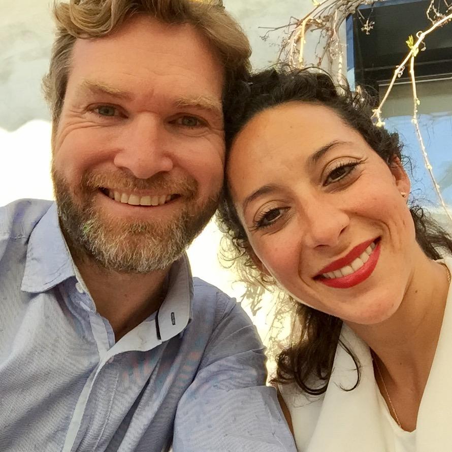 Imagen de Adelina y Thomas que es propietario de Hotel Abaco Altea