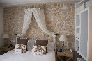Rustis stone wall feature