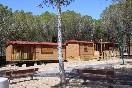 cabañas camping