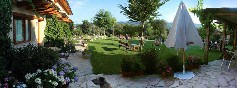 Panoramica del jardin terraza