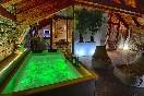 Terraza cubierta apartamento suit Ordesa