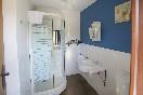 Habitaciones rústicas baño con ducha