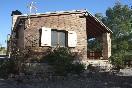 Casas de madera i y ii fachada