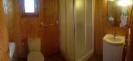 Bungalow B baño con ducha