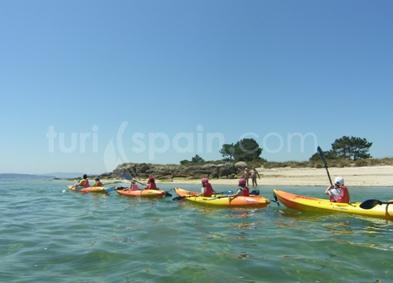 Bautismo en kayak
