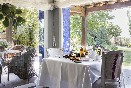 Desayuno con vistas al jardín