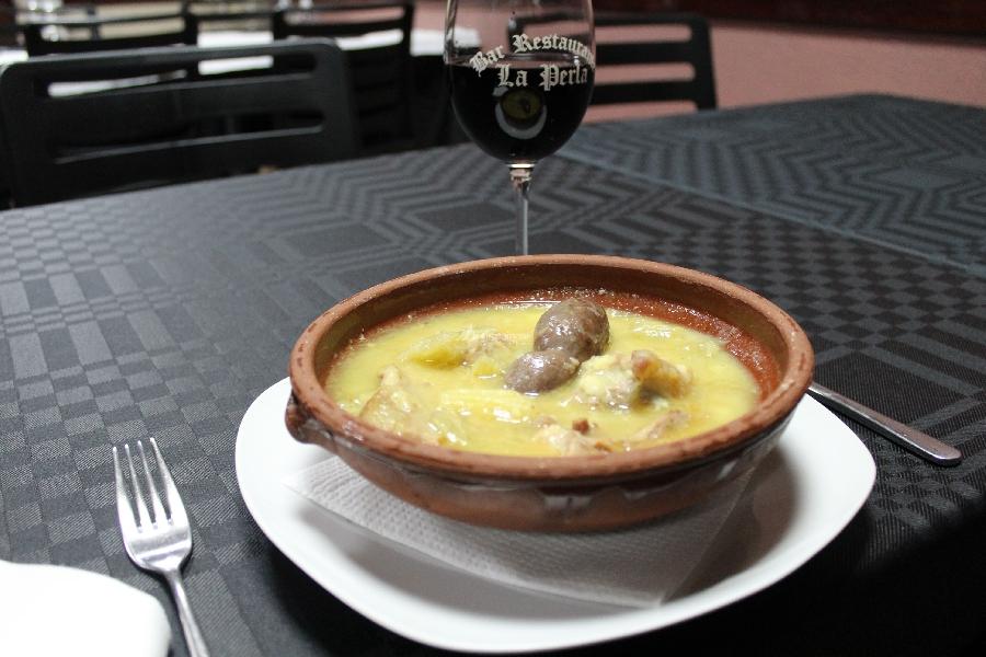 Comida restaurante lucena