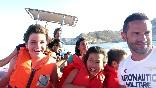 Disfrutando en Cabo de Gata