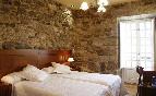 Habitación pared piedra