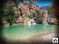 Barranco acuático. Enguidanos. Cuenca
