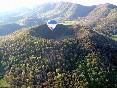 Sobrevolando el volcán Santa Margarida