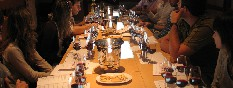 En la mesa