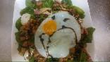 ensalada huevo plancha