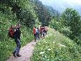 Senderismo tour mont blanch
