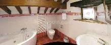 Baño de la habitación doble especial