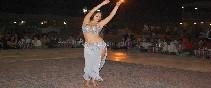Danza en el desierto de Dubai