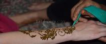 Tatuaje Henna. Dubai